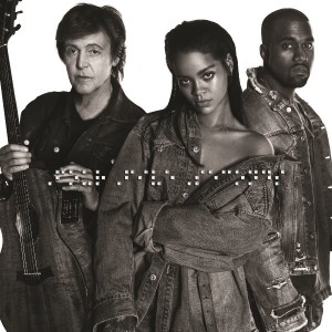 Rihanna_K West_P McCartney_Cover singolo_FourFiveS_m