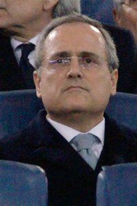 Claudio Lotito, presidente di Lazio e Salernitana