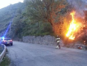 incendio agropoli-radiobussola