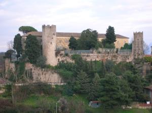 Scorcio del Castello Colonna, ad Eboli