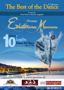 Locandina Premio Maximova
