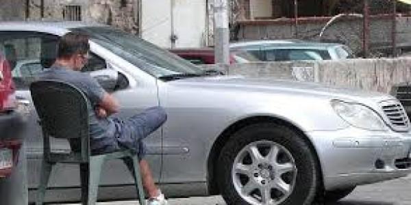 """""""Basta"""" ai parcheggiatori abusivi"""