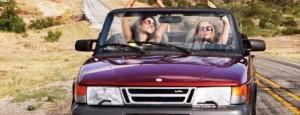ragazze auto radiobussola