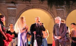 Il direttore artistico Luigi Ferrone e il Sindaco Giovanni De Martino