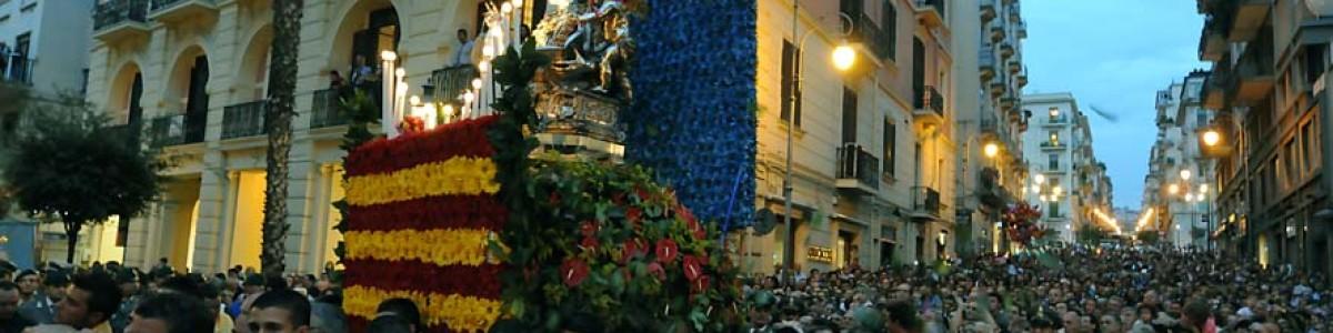"""San Matteo, processione blindata tra """"new jersey"""" e strade chiuse"""