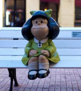 Mafalda, il personaggio nato dalla penna del fumettista argentino Quino