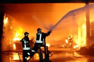 incendio fuoco radiobussola