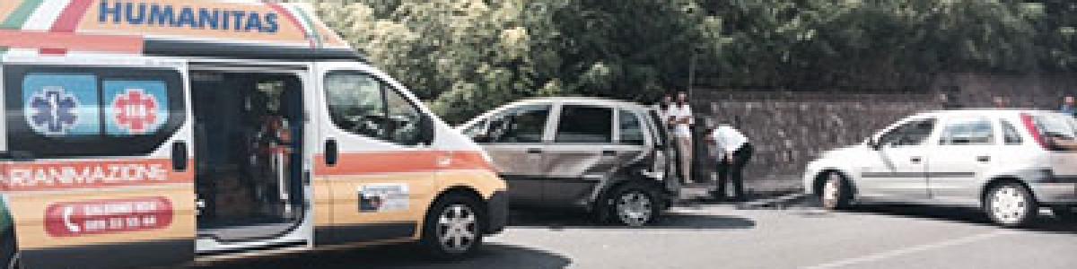 Grave incidente per cinque giovani donne a Nocera Inferiore