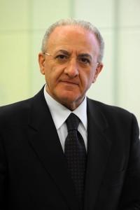 Vincenzo De Luca nel 2015