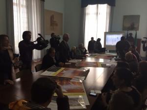 conferenza stampa evangelio