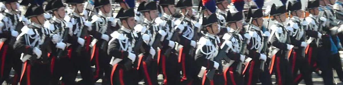 Raduno Regionale dei Carabinieri nell'area archeologica di Paestum