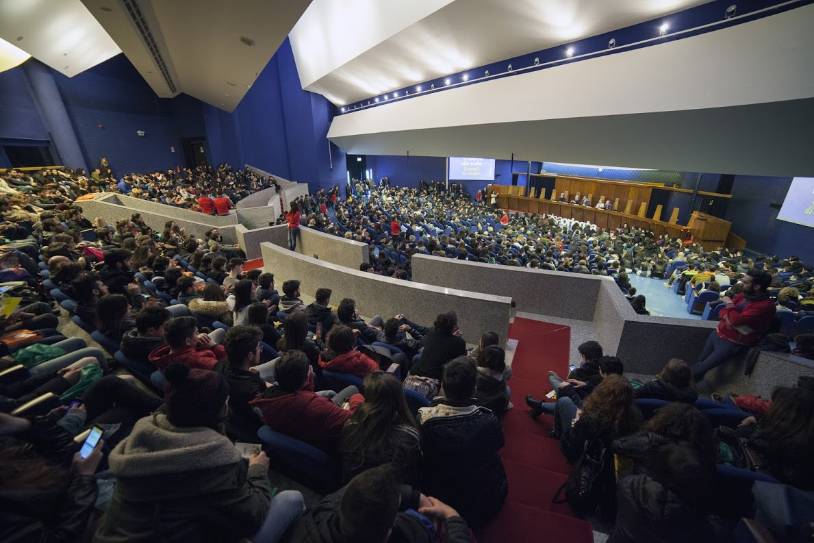 Aula magna università unisa