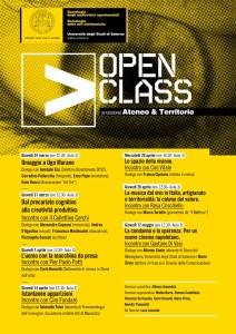 OPEN CLASS locandina