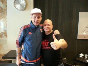 Foto Clementino con Mario Bobo
