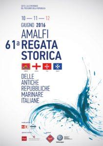 Manifesto regata storica Amalfi giugno 2016