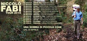 Niccolo' Fabi - tour