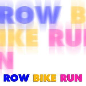 locandina row bike run - radio bussola