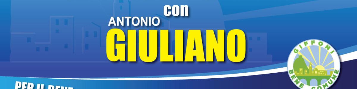 Diretta Facebook con Antonio Giuliano ogni Giovedì alle 12:30