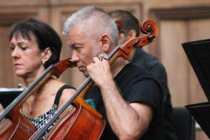 Il violoncellista Antonio Ramous