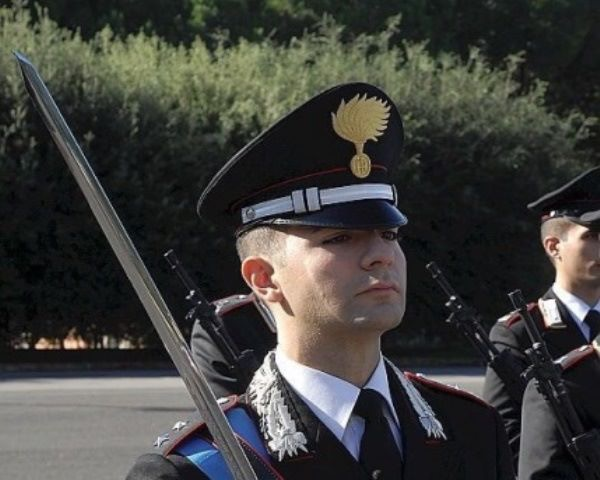 Davide Acquaviva comandante compagnia carabinieri sala consilina