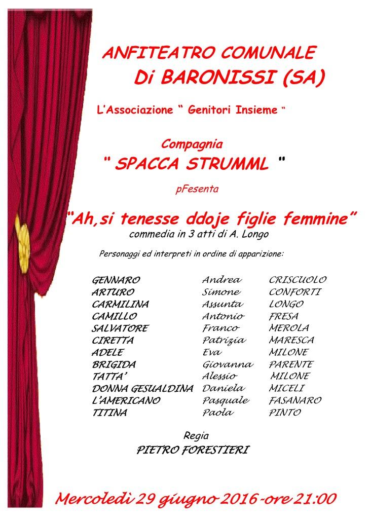 locandina baronissi teatro anfiteatro