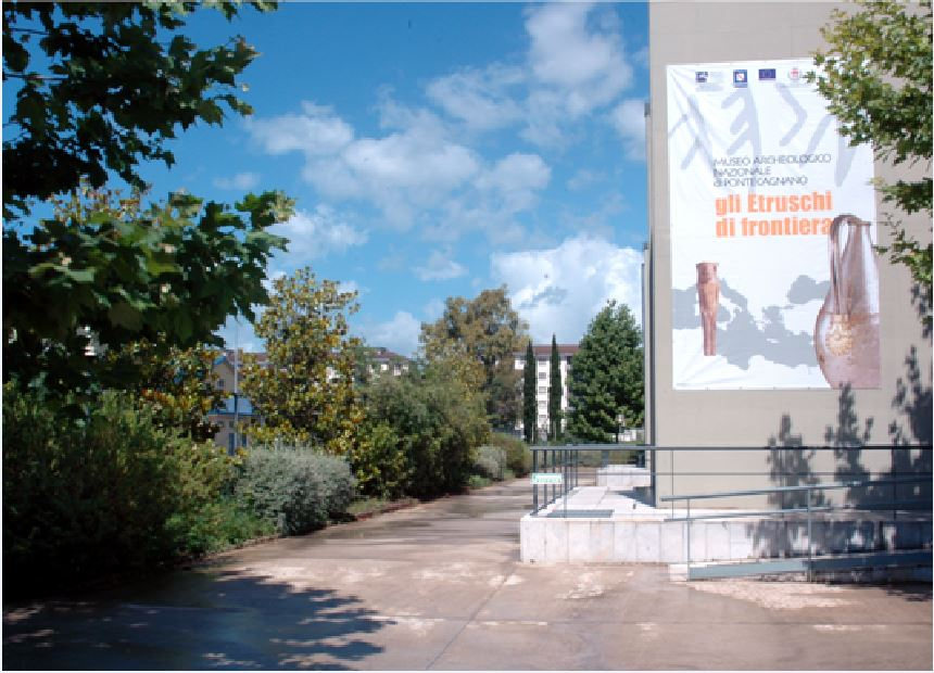 museo di pontecagnano esterno