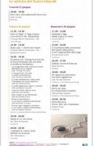 programma yoga expo