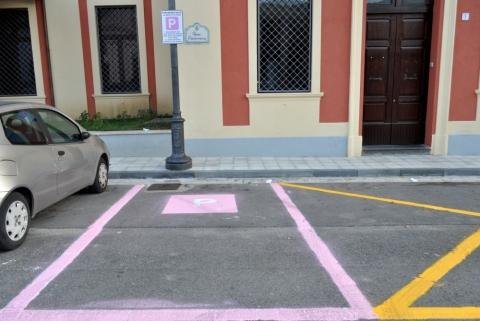 parcheggio rosa giffoni valle piana