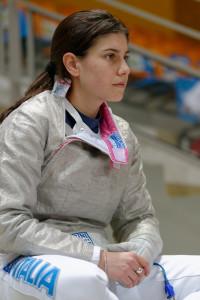 Scherma: Rossella Gregorio, atleta della sciabola di Salerno