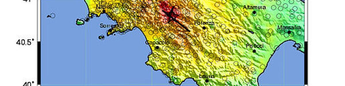 Terremoto del 1980: trentasette anni dopo