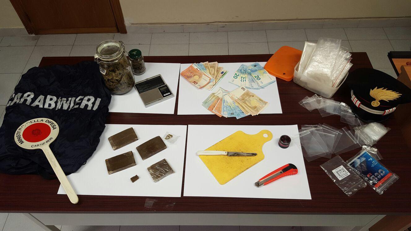 droga materiale esplodente carabinieri mercato san severino