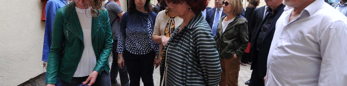 La ministra dell'Istruzione Valeria Fedeli incontra gli alunni dell'Iis Assteas – FOTO