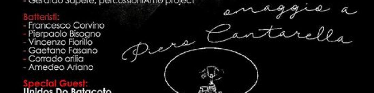 """""""La notte della batteria"""", omaggio al percussionista Pierino Cantarella"""