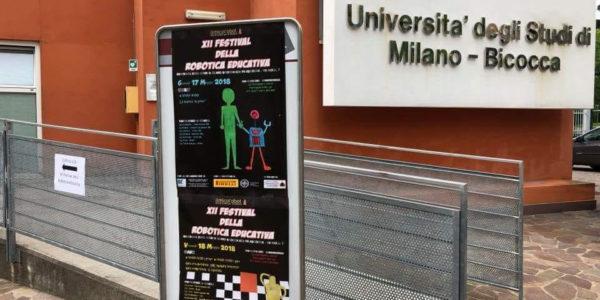 Pontecagnano Faiano al XII Festival della Robotica educativa con il robot umanoide Nao