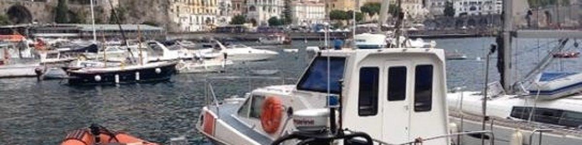 Mare Sicuro: salvato canoista colto da malore a Positano