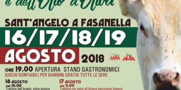 Sant'Angelo a Fasanella: torna la festa del vitello alburnino e dell'olio d'oliva
